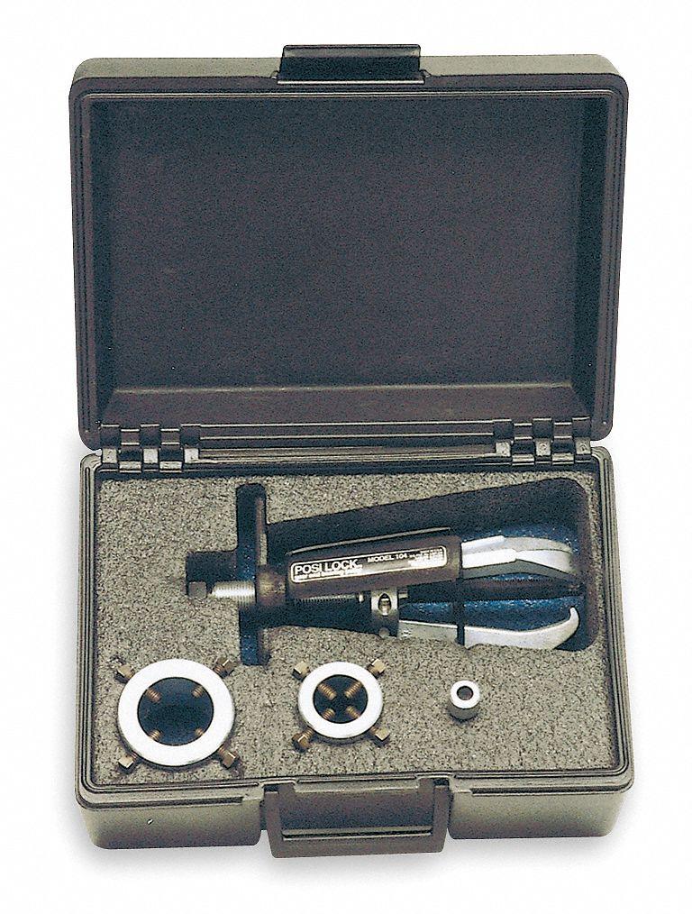 Posi Lock Puller Replacement Parts : Posi lock hub puller adapter set ld hp grainger