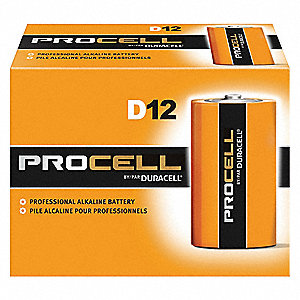 Battery,Alkaline,D size,PK12