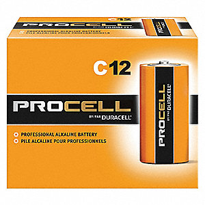 Battery,Alkaline,C Size,PK12