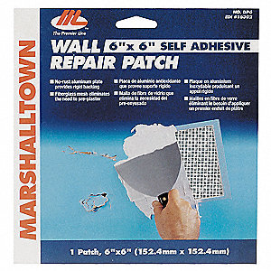 Drywall Patch,8 x 8 Inches,Self Adhesive