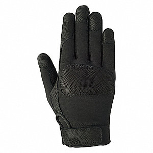 Tactical/Military Glove,S,Black,PR