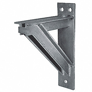 Welded Bracket,Heavy,Length 24 In