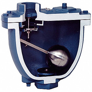 "Air Release/Air Vacuum Valve, 2"" Inlet Size, 2"" Outlet Size, Clean Water Application"