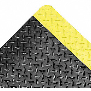 Antifatigue Mat, Vinyl Tile, 3 ft. x 2 ft., 1 EA