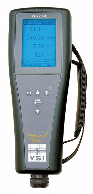 Parts Of Conductivity Meter : Ysi handheld conductivity do meter no cable mll