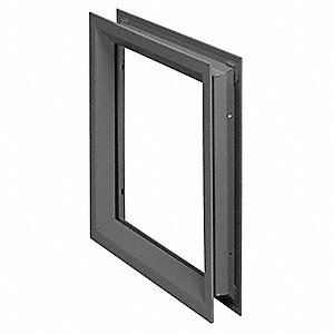Window Frame Kit,Steel,27 x 6 In.