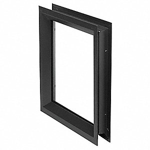 Window Frame Kit,H. 5 In,W. 35 In