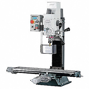 CNC Gear Head Mill/Drill,14 In,1Hp,115v