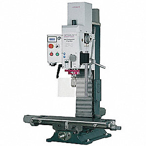 CNC Gear Head Mill/Drill,17 In,1Hp,115v