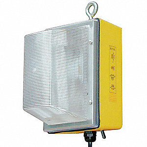 Temp Job Site Light,120V,86W,6300L