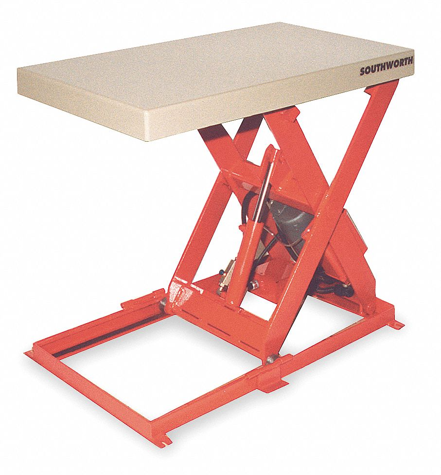 Southworth Stationary Scissor Lift Table 1100 Lb Load