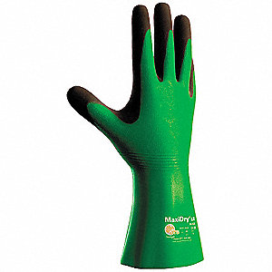 Polymer Nitrile/Polychloroprene Chemical Resistant Gloves, Standard Weight Thickness