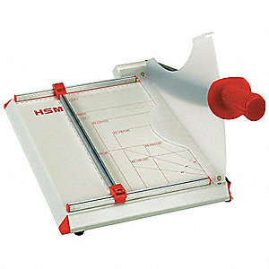 "Guillotine Paper Cutter, 15"" Cutting Length, 15 Sheet Capacity"