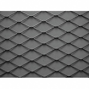 Expanded Sheet,Rsd,Carbon,8 x 4 ft,1-#16