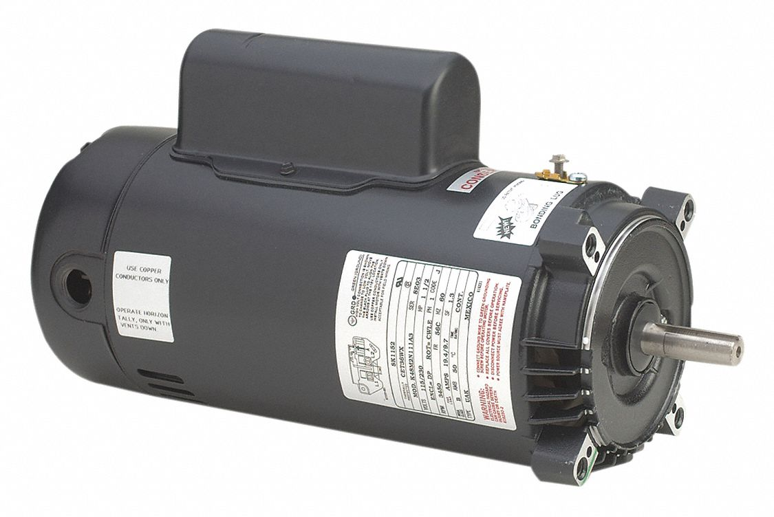 Century 1 1 2 hp pool and spa pump motor capacitor start for 1 2 hp pool motor