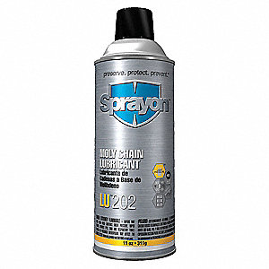 Moly Chain and Pin Lubricant, 11 oz. Aerosol Can