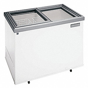 Ice Cream Freezer 14.8cf NSF,w/casters