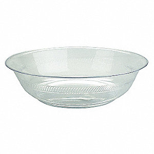 Bowl,2 Gallon,Clear,PK24