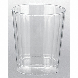 Disposable Tumbler,7.5 Oz,Clear,PK 240