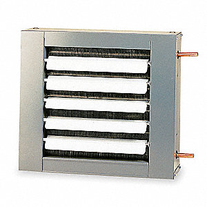 Hydronic Unit Heater,18 In. W,245 cfm