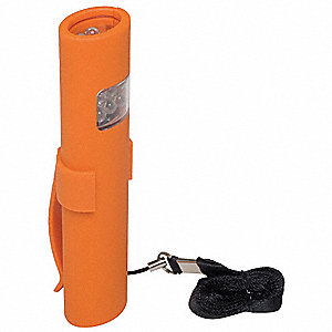 Flashlight,LED,Orange,20/12/8 lm,AAA