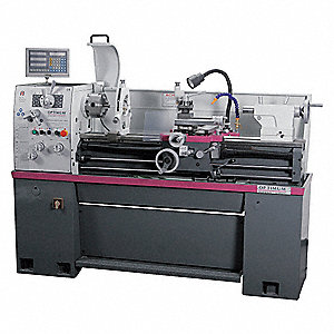 Engine Lathe w/DRO,14x40,2HP,3Phase