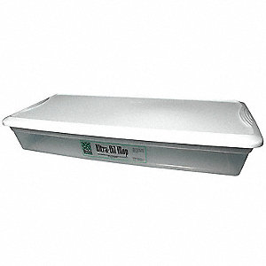 Drip Tray for Oil Mop,34-3/4 In. L