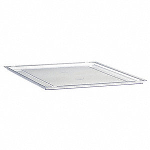 Storage Tray Lid,L 12 1/4 In,Clear