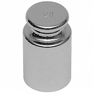 Calibration Weight,500g,Stainless Steel