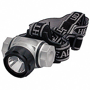 General Purpose Headlamp,LED,Silver