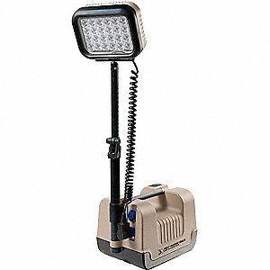 Remote Area Lighting System,24W,Tan