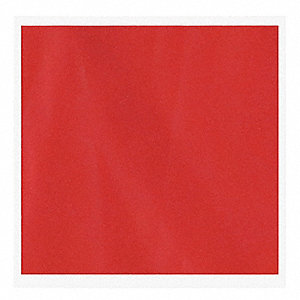 Throwaway Flag,Red,16x16In,PK100