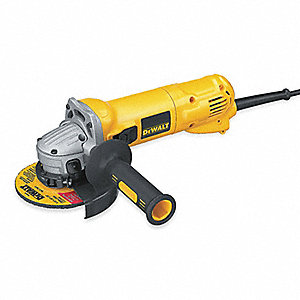"4-1/2"" Angle Grinder, 10 Amps"