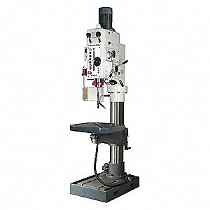 4 Motor HP Floor Drill Press, 230