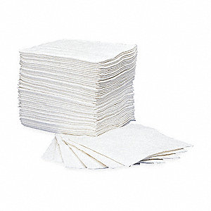 Absorbent Pads,40 In. L,30 In. W,PK50