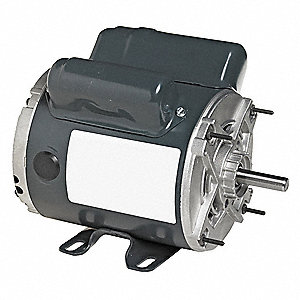 1/2 HP Instant Reverse Motor,Capacitor-Start,1725 Nameplate RPM,115/230 Voltage,Frame 56