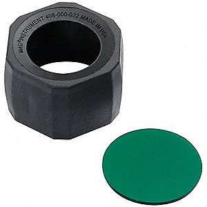 Lens and Holder,Green,F/AA Mini Mag-Lite