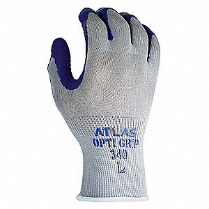Coated Gloves,L,Gray/Purple,PR