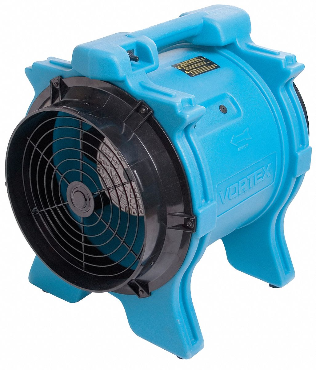 Small Axial Fans : Dri eaz horizontal speed portable blower dryer cfm
