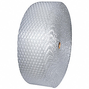 Perforated Bubble Roll,48In. x 250 ft
