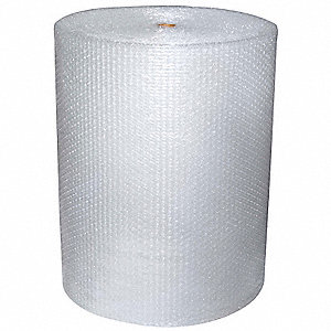 Perforated Bubble Roll,48In. x 125 ft