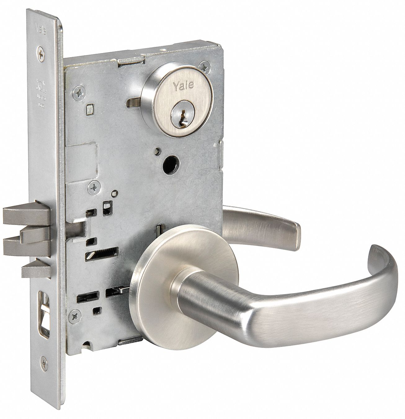 Yale Heavy Duty Mortise Lockset Keyed Different 2 3 4