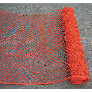 "Barrier Fence, 1-3/4 x 2"" Mesh Size, 4 ft. Height, 50 ft. Length"