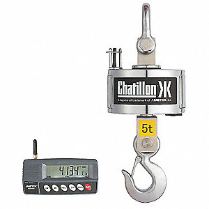 Digital Crane Scale,Steel,38-3/4 In. H