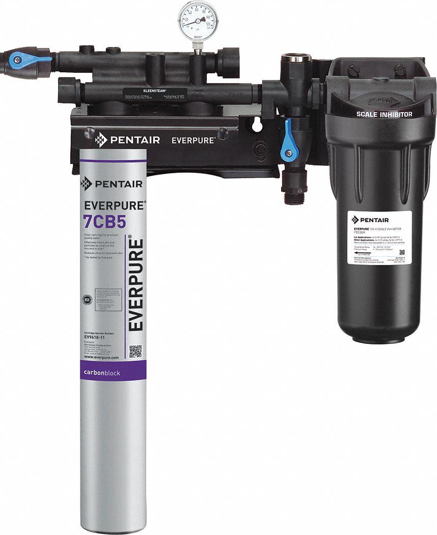 Pentair everpure 3 4 npt aluminum steamer filter system for Pentair everpure