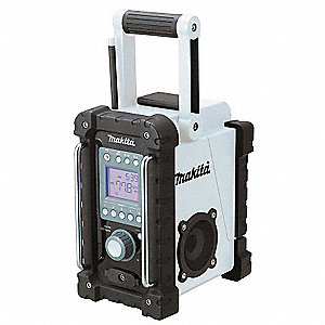 Jobsite Radio,18.0V,Li-Ion,3 or 1.5/hr.