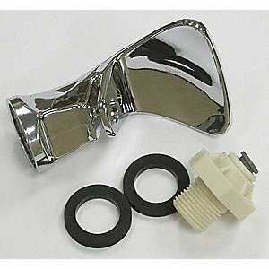 "Chromed Plated Plastic Chrome Bubbler Kit, For Various Halsey Taylor Water Coolers with 1/4"" Tubing"