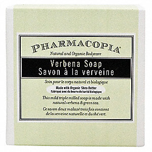 Pharmacopia Organic Bath Soap, Verbena Fragrance, 1.5 oz., 250 PK
