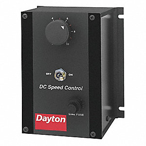 DC Speed Control,NEMA 1,100/200VDC Shunt Wound Volts,0 to 90VDC Voltage Output,2 Max. Amps