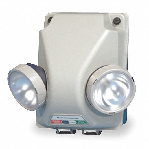 Lithonia Lighting Emergency Light Battery: LITHONIA LIGHTING 120/277V Krypton Emergency Light, 9.0W